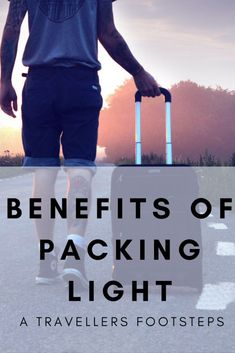I have learnt the benefits of packing light the hard way. I ALWAYS opt to travel light when I backpack and these are the reasons you should too. Travel Tours, Packing Tips For Travel, Travel Essentials, Travel Hacks, Budget Travel, Traveling Tips, Travel Gadgets, International Travel Tips, Packing Light