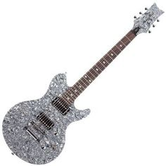 Hey, this is cool! Daisy Rock Siren - Black Ice Electric Guitar - My honey :)
