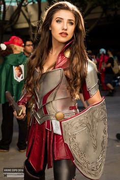 Lady Sif Thor Cosplay | Anime Expo 2016