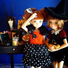 Happy Halloween② #ruruko #doll
