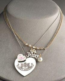 juicy love charm necklace:]