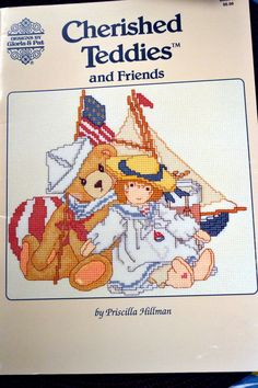 Cherished Teddies and Friends Cross Stitch Patterns  By Gloria & Pat by Patternhaus on Etsy