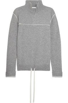 Chloé - Cashmere Turtleneck Sweater - Gray - x large