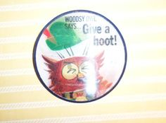 Woodsy Owl Says Give A Hoot Don't Pollute by VintageToyAddict