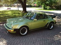 Light Green Metallic 1979 Porsche 911 Turbo