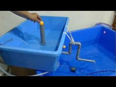 Affnan's Aquaponics - Ball Assisted Loop Siphon - YouTube