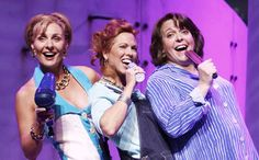 Another dream role - Donna in Mamma Mia.  Hey - if Meryl can pull it off (which, frankly, she didn't), I can give it a shot!