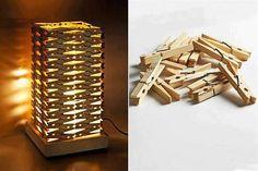 Tahta Mandaldan Gece Lambası Yapımı - http://m-visible.com/tahta-mandaldan-gece-lambasi-yapimi.html