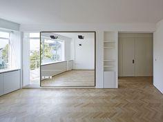 Flat in Notting Hill, London — Casper Mueller Kneer Ltd Architects — London & Berlin Notting Hill London, Architects London, Architecture, Projects, Furniture, Home Decor, Herringbone, Flat, Mirror