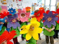 Pour le Mardi-Gras, les déguisements du Carnaval de l'école ont annoncé le printemps avant l'heure !