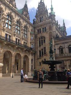 #Hamburg #Germany #weekender #travel #wanderlust Hamburg Germany, Weekender, Travel Inspiration, Louvre, Wanderlust, Building, Travel Purse, Buildings, Construction