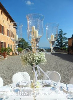 Lovely Tuscany - Wedding Planner in Toscana: Wedding in the Villa close Siena: the reception setting