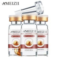AMEIZII Snail Original Liquid Day Creams & Moisturizers Skin Care Repair Essence Serum Anti-Acne Moisturizing Whitening