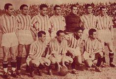 La  temporada 34-35 pasa por ser la más gloriosa de la historia del club. Al                                   gran equipo que ya poseía, llegaron Gómez, Caballero, Larrinoa y Rancel, lo que trajo como feliz consecuencia la victoria en la Liga del conjunto verdiblanco. Era el 28 de Abril de 1935, y está escrito en la Historia del club verdiblanco: el Betis venció por 0-5 en Santander y se hizo con el título de Liga; era Sábado de Feria