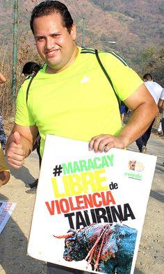 ¡L@s aragüeñ@S se pronuncian contra la barbarie! #MaracayLibreDeViolenciaTaurina #CorridasDeToros #MaltratoAnimal #DerechosAnimales #Vida #Activismo #Venezuela #Aragua #Toros http://noticias.masverdedigital.com/ , https://www.facebook.com/masverde.periodicoecologico/ , https://www.facebook.com/GritoAnimalmcy/
