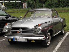 Borgward ISABELLA Coupe, aufgenommen in Speyer, August 2013.