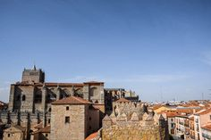 View from the top of Avila Walls