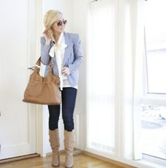 love this preppy/casual/sophisticated outfit!