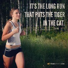 It's the long run that puts the tiger in the cat. #ownyourmark #tribesports #jointhetribe #challengeyourself  #fitness #motivation #fitspo #inspiration #running