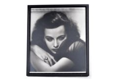 1938 Signed, Numbered Hurrell Photographic Print of Hedy Lamarr