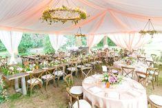 Andra + Matt // Elegant + Romantic Charleston Wedding at Legare Waring House Charleston, Tent, How Are You Feeling, Peach, Romantic, Table Decorations, Bridal, Elegant, Wedding