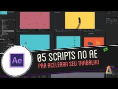 05 scripts pra acelerar seu workflow no Adobe After Effects - YouTube