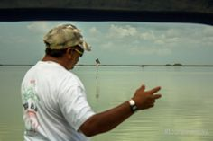 Our captain Mario explaining us about Sian Ka'an. His skills for spotting animals and fly fishing are impressive! #tourguidekay #privatetours‬ #playadelcarmen #cancun #tulum #rivieramaya