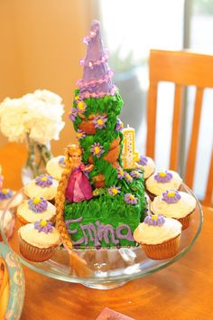 rapunzel party ideas | La Flor Couture: Introducing the Tangled Rosette Collection
