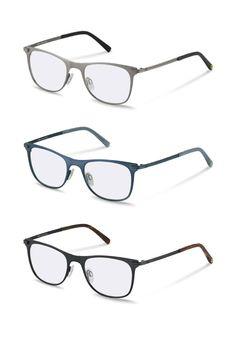 Mit ihren 4 verschiedenen Farben, von Silber bis Blau, vervollständigt diese minimalistische Unisex-Brille von rocco by Rodenstock alle deinen legeren oder schicken Outfits.