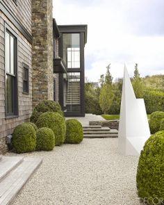 simple / modern garden
