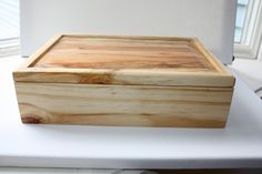 Hard Yellow Pine Keepsake Box