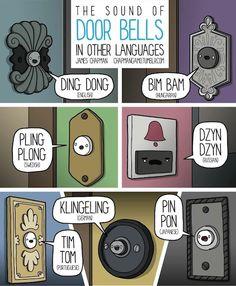 The international sound of doorbells