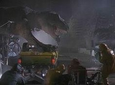 jurassic park behind the scenes