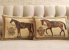 Saddle Club Pillow & Royal Dressage Pillow
