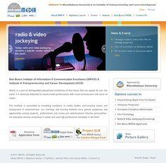 Web design for DBIICE. View more web design samples here: http://www.niyati.com/website-portfolio