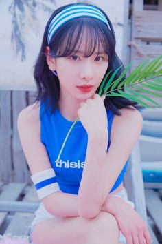 WJSN - For the Summer concept teasers. Yuehua Entertainment, Starship Entertainment, Kpop Girl Groups, Kpop Girls, Wjsn Luda, Kim Hyun, Get Skinny Legs, Air Force Blue, Girl Facts