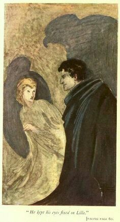 """He kept his eyes fixed on Lilla"" 