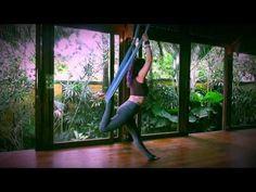 Aerial Yoga Vinyasa Sequence - YouTube