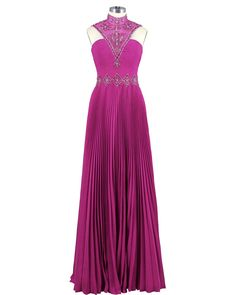 Uniquedress Women's Long Prom Dress 2016 Chiffon Evening Dress Size 26 Plus US Fuchsia. Suitable as prom dresses, cocktail dresses, evening dresses, homecoming dresses and other formal dresses. Please send us your detailed measurements for height/bust/waist/hips/hollow to floor(barefoot) after place an order. Please noted that the estimated delivery time you saw is automatically set by Amazon system. Making the dress needs about 6-10 business days, shipping time to the USA about 3-45...