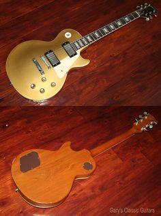 1971 Gibson Les Paul Standard, Goldtop, Extremely Rare, 100 % original with Humbuckers http://www.garysguitars.com/catalog/1971-gibson-les-paul-standard-goldtop