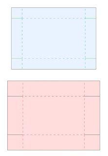 Silhouette Studio Anleitung: Vorlage für flache Schachtel inkl. Deckel