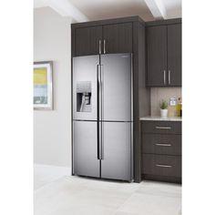 samsung 226 cu ft 4door french door stainless steel counter depth and counter depth