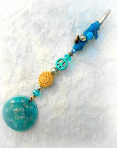 Blue Moon Roach Clip by DarkestAtDawn on Etsy, $12.00