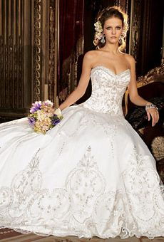 Ball Gown Wedding Dresses : Picture Description Desert Bride Bridal Salon, Indio, California ( Palm Springs Area ) - Eve of Milady Bridals Designer Wedding Dresses Photos, Wedding Dress Styles, Dream Wedding Dresses, Bridal Dresses, Wedding Gowns, Eve Of Milady Wedding Dresses, Wedding Album, Wedding Pictures, Princess Ball Gowns
