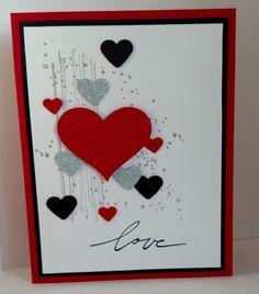 25 Unique and Beautiful Valentine Cards - decorisme Valentines Day Cards Handmade, Valentines Greetings, Valentines Design, Valentine Greeting Cards, Handmade Anniversary Cards, Love Cards Handmade, Homemade Valentine Cards, Paper Cards, Diy Cards