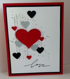 Valentine Love by donnaks - Cards and Paper Crafts at Splitcoaststampers
