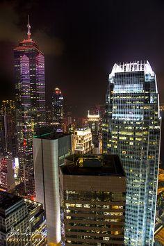 Hong Kong Skyline &  IFC Centre