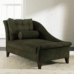 Klaussner 270LC Lincoln Chaise Lounge - olive green furniture.jpg