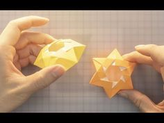 How to Make a Paper Box Tutorial – Red Ted Art Diy Origami, Origami Wall Art, Origami And Kirigami, Origami Folding, Paper Folding, Origami Ideas, Paper Box Tutorial, Paper Origami Flowers, Diy Paper