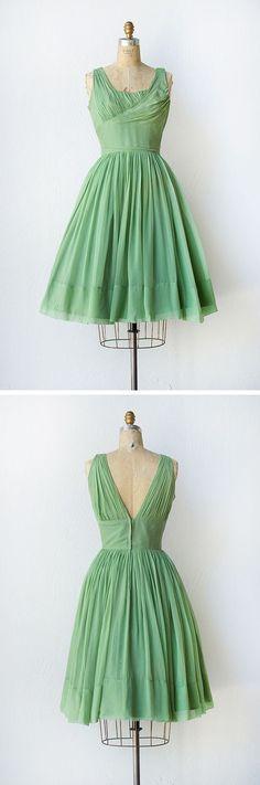 vintage dress   1950s dress   Vernal Season